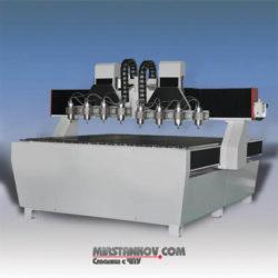 Шестишпиндельный гравировально-фрезерный станок с ЧПУ MSF1818