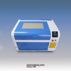 Лазерний гравер MSL 4060 - невеликий лазер з поворотною віссю і підйомним столом.